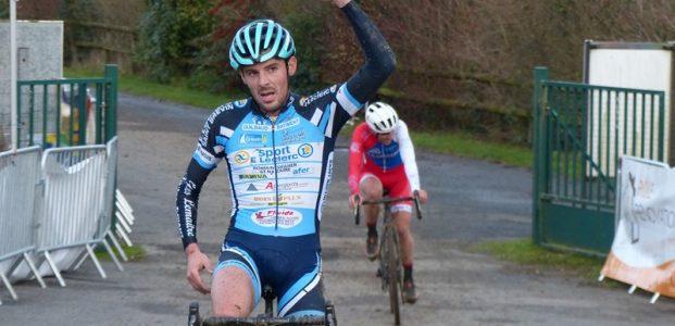 Victoire brévinoise sur le cyclo-cross d'Avessac le 15/12/19
